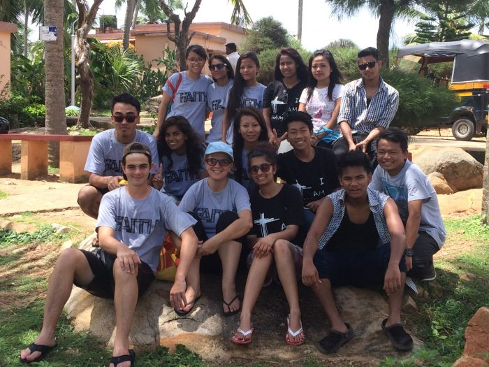 Grupo de jóvenes de ABC Project.