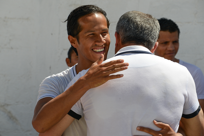 Chico restaurado en Betel México